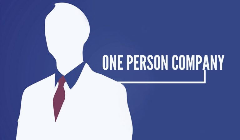 formation of one person company